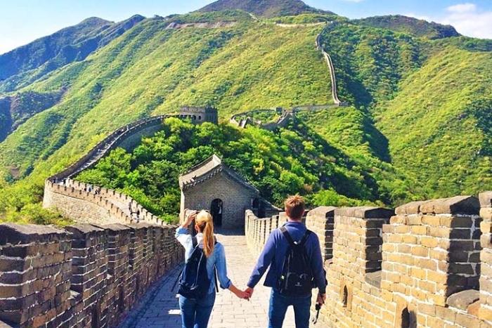 Mộng thấy mình và người yêu đi du lịch Trung Quốc