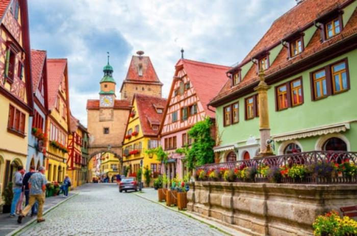 Khi có giấc mơ du lịch Đức đặt cược con lô đề nào?