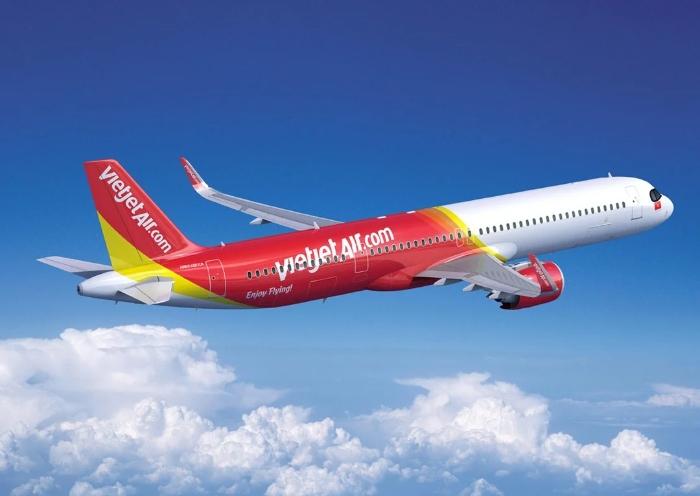 Khi mộng thấy đi du lịch Mỹ làm bằng máy bay màu đỏ trắng