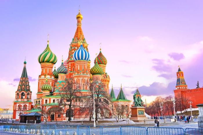 Giấc mơ du lịch Nga cũng có những tình huống rất hay xảy ra