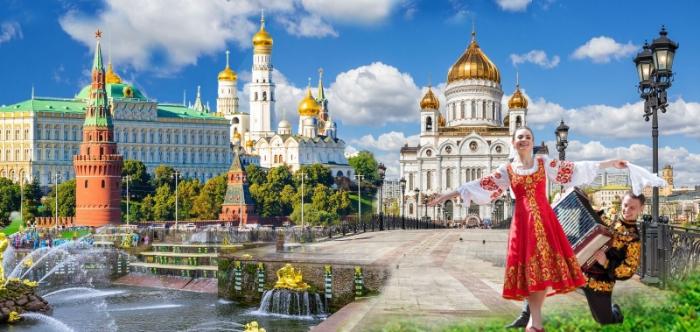 Gặp tình tiết đi du lịch ở Nga nhưng bị trượt chân ngã