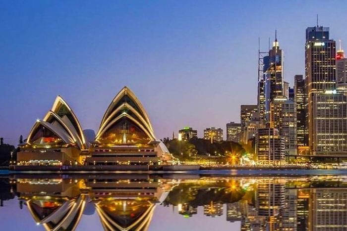 Úc là một đất nước có nền kinh tế phát triển đứng thứ 12 trên thế giới