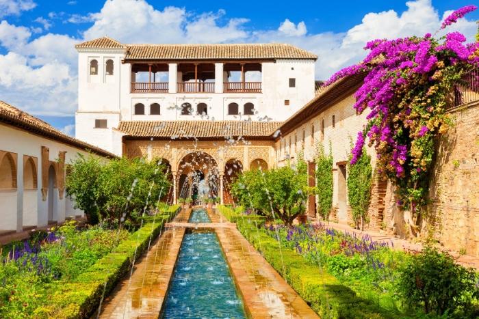 Nằm mơ thấy ăn tối tại Generalife của Tây Ban Nha đặt cược 12 - 45